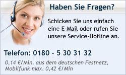 Hotline - Wenn Sie Fragen haben rufen Sie uns einfach an