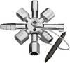 Universal Twin Key Switchgear Cabinet Key Knipex