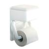 Toilet Paper Holder with Wet Toilet Paper Box Wenko