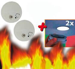 Westfalia Rauchmelder 2x + Magnetolink