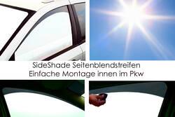 SunTape BlackEdition Seit.Bl.Streif. Mercedes Benz E-Klasse Limousine W211 BJ. 2002-2009 MEEL211SB