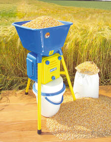 """Elektrische Getreidemühle """"Golia 4 V"""", 750 W, Getreide selber mahlen"""