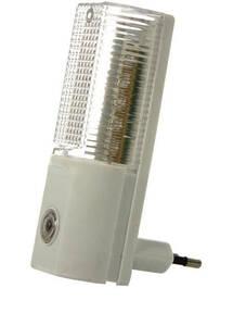 LED Nachtlicht mit 5 LEDSs - Dämmerungsautomatik, warmweißes Licht