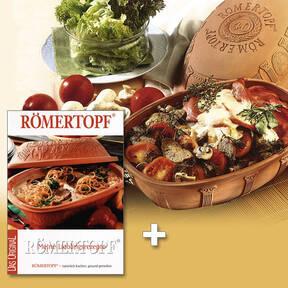 Römertopf/ Jubiläumsbräter + Kochbuch GRATIS