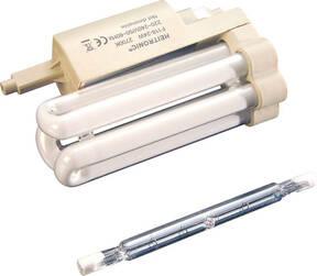 Energiesparlampe für Halogenstrahler 118 x 47 x 76,5 mm, kaltweiß