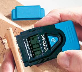 Feuchtigkeitsmesser 0 - 60 % - testen Sie selbst den Feuchtegehalt