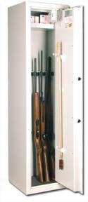 Waffenschränke Modell AB-02 - lichtgrau - verschiedene Lieferarten .