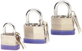 Sicherheitsvorhängeschlösser - Stahllamellen - in verschiedenen Ausführungen