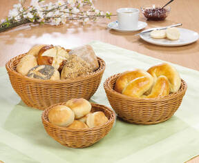 Bread Roll Basket Set, 3 in set