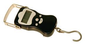 Hängewaage Digital bis 50 kg mit 4 stelligem LCD-Display