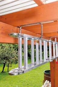 Abschließbarer Leiterhaken zur Wandmontage und Leiter Aufbewahrung