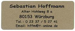 Adress Etiketten mit Hintergrund in gold, selbstklebend, 1000 Stück