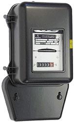 Drehstromzähler, geeicht, 150 U/ KWh.