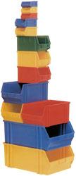 Lagersichtboxen, rot - 12 Stück, 480 x 305 x 17...