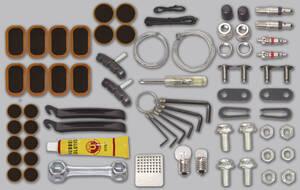 Fahrrad Reparatur Set, 66 tlg. in praktischer Aufbewahrungsbox Westfalia