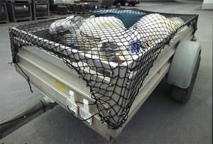 Netz zur Ladungssicherung für Anhänger, dehnbar, 1,8 x 1 m Westfalia