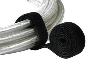 Klettband 1 m schwarz/ 19 mm breit ( Kabelbinder ) Hama im Preisvergleich