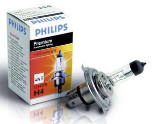 Premium Autolampen H1 - H7 Philips