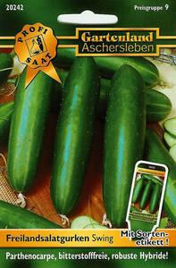 Salatgurken Swing - Gemüse Samen Gartenland Aschersleben