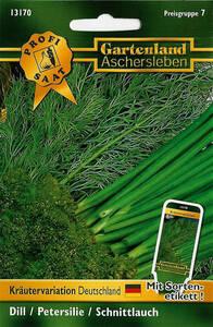 Kräuter Variation Deutschland - Kräuter Samen