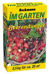 Beeren Dünger, 2,5 kg Beckmann