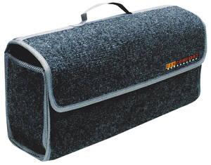 Kofferraumtasche grau mit praktischem Tragegriff. Westfalia