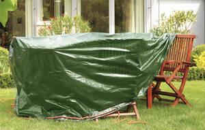 Schutzhüllen/Tasche für Hochlehner Auflagen LxBxH 130 x 60 x 35 cm RAIN EXO