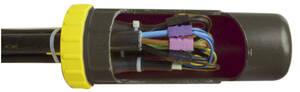 Abzweig Dosenmuffe, wasserdicht IP68 bis 1000 Volt, 4 Ausgänge Heitronic