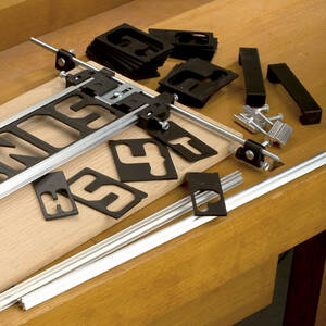Buchstaben + Zahlen, 70 mm, horizontal 41 tlg. ...