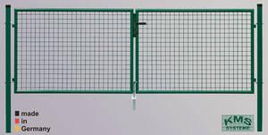 Garten Doppeltore - zweiflügelig - 3 m Gesamtlänge - in verschiedenen Höhen KMS Preisvergleich