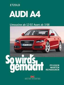 So wirds gemacht Buch für Audi A4 B8 ab Bauj. 12 07 Band 147