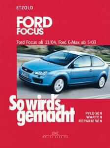 So wirds gemacht Buch für Ford Focus ab 11/04/C...