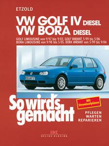 So wirds gemacht Buch für Golf IV Diesel Bauj. ...