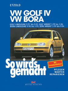 So wirds gemacht Buch für VW Golf IV Bauj. 9/97...
