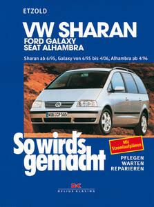 So wirds gemacht Buch für VW Sharan ab Bauj. 6/95, Band 108