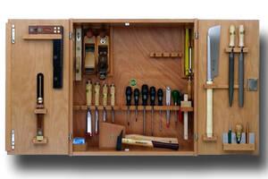 Werkzeugschrank komplett mit 36 tlg. Werkzeugsatz E.C.Emmerich