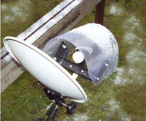 Regen- und UV-Schutz für LNBs von SAT-Anlagen W...