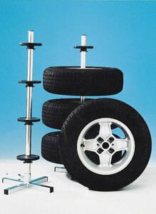 Reifenhalter/ Felgenbaum, so werden Reifen rich...