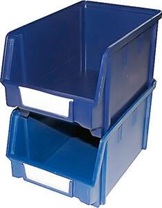 Lagersichtbox blau - 24 Stück zur Aufbewahrung ...
