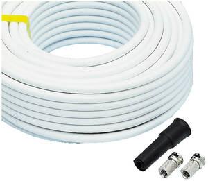 Antennen-Kabel, Länge: 20 m mit 2F-Steckern u. ...
