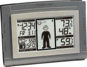 Wetterstation Boy WS9611 - IT mit Außensensor T...