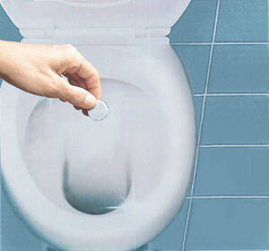 20er Set Swiss Tabs zur WC Reinigung Medosan