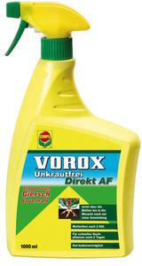 Unkrautfrei Direkt, anwendungsfertige Sprühflasche, 1000 ml Vorox