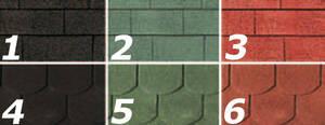 Dacheindeckung für gartenhäuser