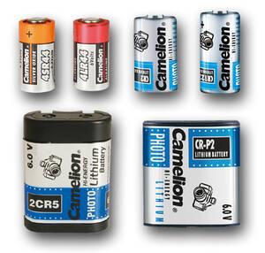 Spezial-Batterien für Kameras Camelion