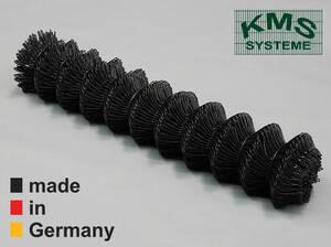 MASCHENDRAHT SCHWARZ 60X60X2,8 mm 0,8 bis 1,25 m hoch, Längen 15/25 m GB KPK KMS Preisvergleich