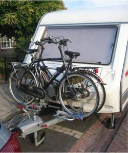 Deichsel Fahrradträger abklappbar