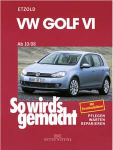 VW Golf VI AB 10/08 Band 148