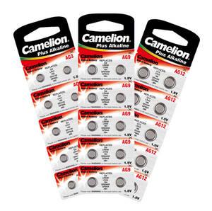 5 Stück: Knopfzellen Typ: AG8, 1,5 Volt, 45 mA, 11,6 x 2,1 mm Camelion - Preisvergleich