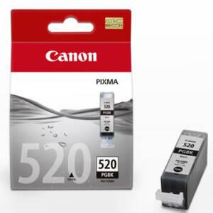 Original Tintentank, Farbe schwarz Typ PGI-520BK Canon Preisvergleich